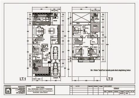 desain rumah minimalis  lantai  gambar foto desain