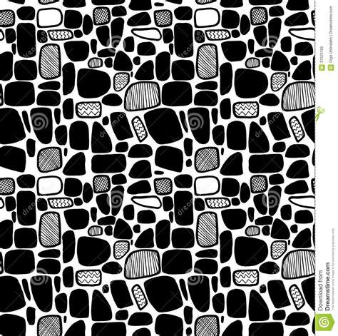 abstract black  white geometric pattern decorative