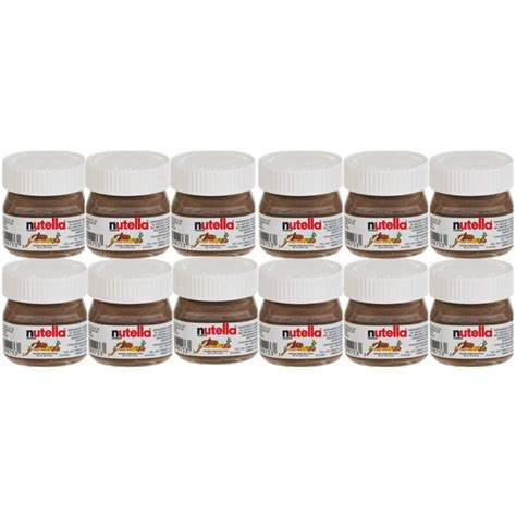 nutellino petit pot de 25 gr dosette de caf 233