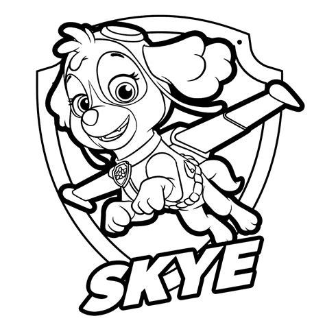 Leuk voor kids (Fun for kids) Skye with badge