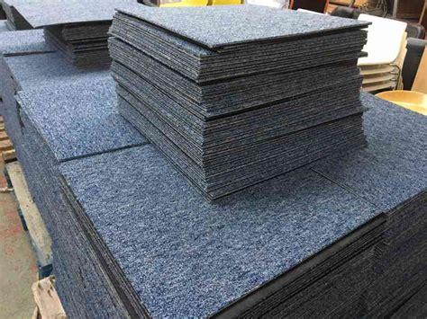 interface blue carpet tiles used carpet tiles free