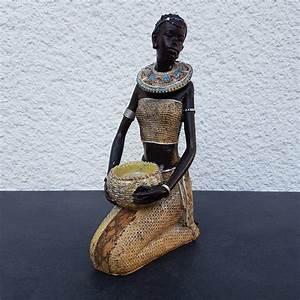 Afrikanische Deko Shops : afrikanische frau deko figur teelichthalter afrikanerin afrika massai zulu himba ebay ~ Markanthonyermac.com Haus und Dekorationen