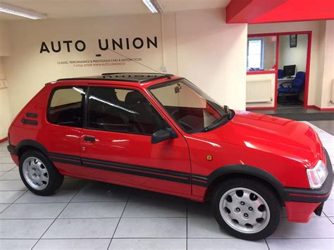 Peugeot 205 Gti For Sale by Used 1991 Peugeot 205 Gti For Sale In Northants Pistonheads
