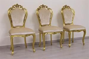 Sedia in stile barocco minimale con braccioli IDFdesign