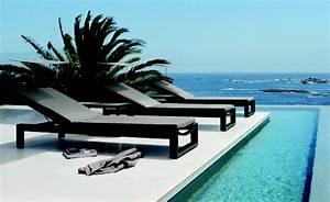 Chaise Exterieur Design : chaise longue ext rieur design ~ Teatrodelosmanantiales.com Idées de Décoration