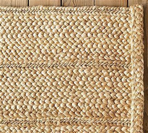 Flat Braided Jute Rug   Pottery Barn