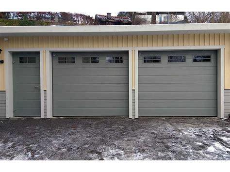 Garage Port by Garageportar Med Matchande Sidod 246 Rr Widahls Port