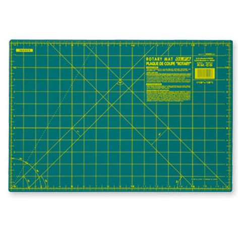 rotary cutting mat olfa rotary cutting mat 12 inch by 18 inch small self