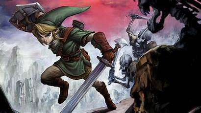 Zelda Twilight Princess Wallpapers Legend Cool Wallpapertag