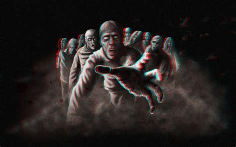 zombie horde web design   48HoursLogo.com