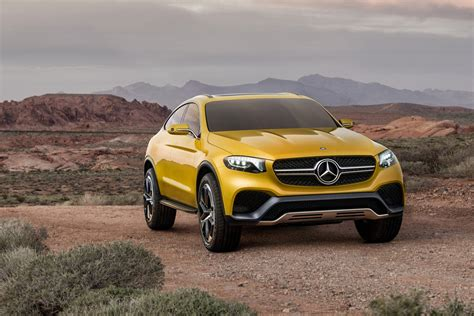 Mercedes Benz Concept Glc Coup Goes Official Carscoops
