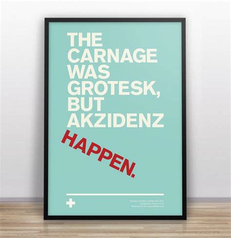 typographic jokes poster series by gary nicholson
