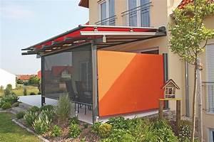 Sichtschutz Stoff Terrasse : windschutz und sichtschutz ~ Markanthonyermac.com Haus und Dekorationen