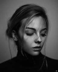 Black White Portrait Photography Woman