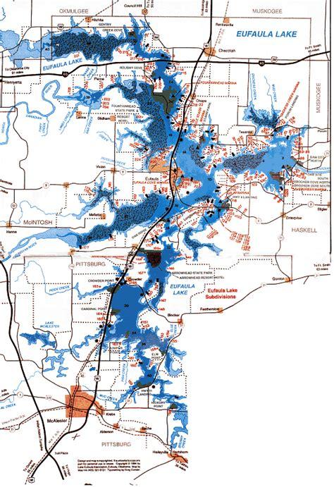 Eufala Map