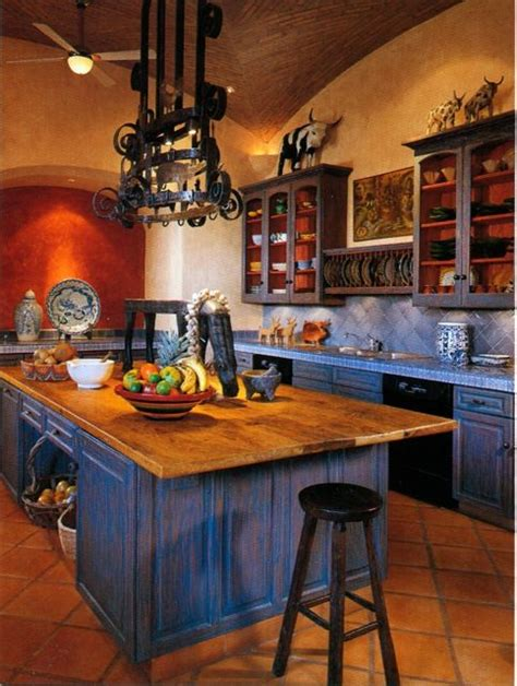 mexican kitchen accessories a home for entertaining blue kitchen inspiration villas 4108