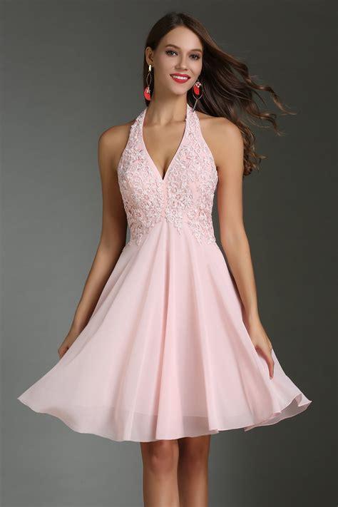 robe pour mariage chetre robe de cocktail courte col am 233 ricain appliqu 233 e