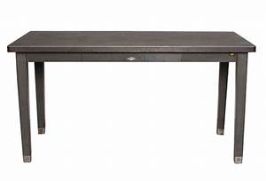 Metal Table with Drawer Omero Home