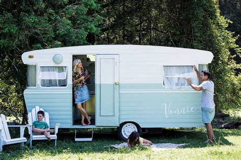 vintage caravan renovation home