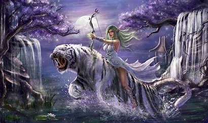 Warcraft Tyrande 5k Whisperwind Wallpapers 4k Backgrounds