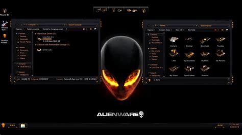 install  wicked alienware theme  windows