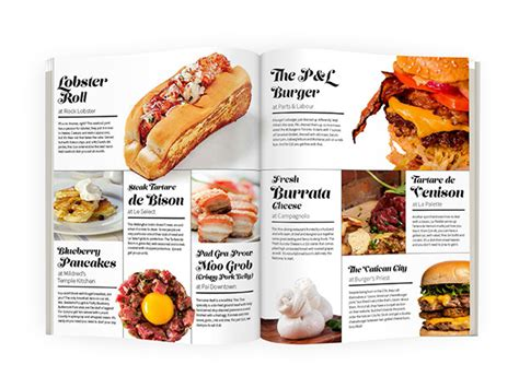 article cuisine food article magazine spread designs on pantone canvas gallery