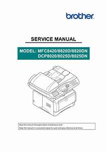Brother Mfc 8420 Mfc 8820d Mfc 8820dn Service Manual