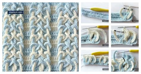 crochet knot stitch creatys for diy crochet knot stitch usefuldiy