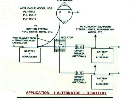 3 Battery Marine Wiring Diagram by Wiring Batteries River Daves Place