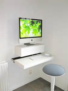 small diy wall mounted desk decoist