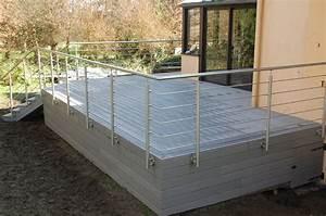 Pose Lame Terrasse Composite : terrasse composite latest avis terrasse bois composite ~ Premium-room.com Idées de Décoration