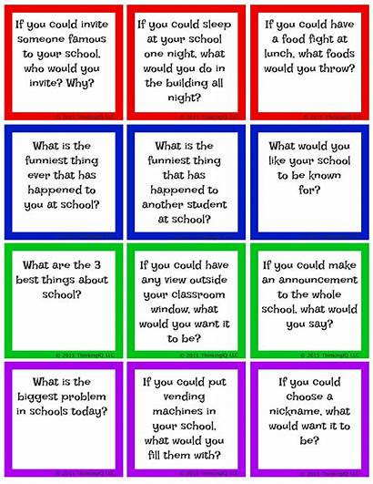 Conversation Starters Questions Cards Activities Topics Question