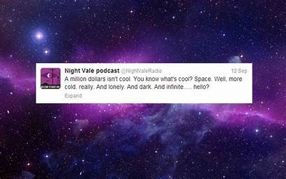 Vale Night Welcome Seed Ep Space Tweets