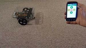 Arduino Robot Controlled From An Android Phone Over