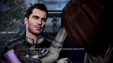 Mass Effect 3 Kaidenfemshep Rekindling The Romance Youtube