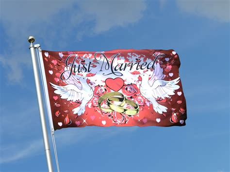 married  ft flag  cm royal flags