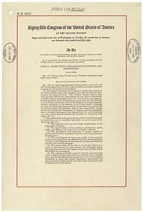 The Document That Created NASA   Live, Learn, and Dream