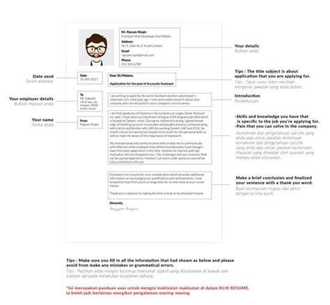 Cara Resume by Cara Membuat Cover Letter Resume