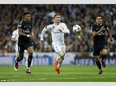 Who was better Ronaldo or Neymar in Real Madrid v PSG tie