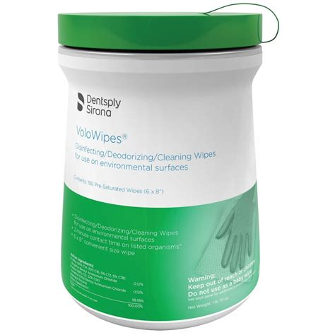 VoloWipes Disinfectant Wipes - Surface Disinfectants