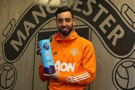 Bruno Fernandes Wins Premier League Player Of The Month ...