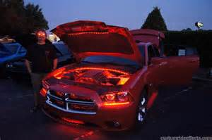 Dodge Charger Under Car Lights
