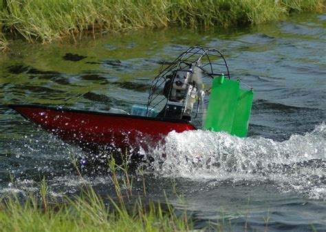 Model Airboats by 2manytoyz Dennis Mudmasher Rc Airboat