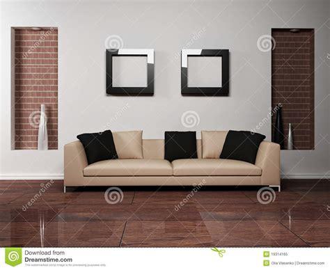 modern interior design  living room  stock illustration illustration  empty modern