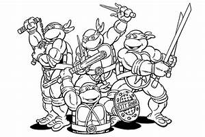 Teenage Mutant Ninja Turtles Coloring Pages 5136