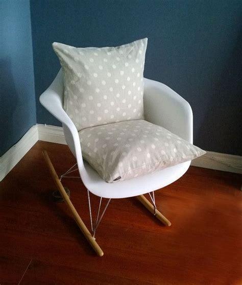 eames rocking chair cushion grey polka by rockincushions 44 00 nursery