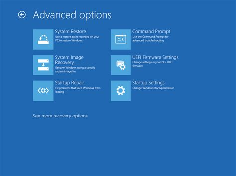 Change Uefi Firmware Settings Or Start In