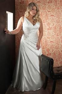 new arrival sexy plus size satin applique wedding dress With plus size sexy wedding dresses
