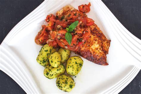Rezept Hähnchenbrustfilet Mit Kartoffeln & Tomaten