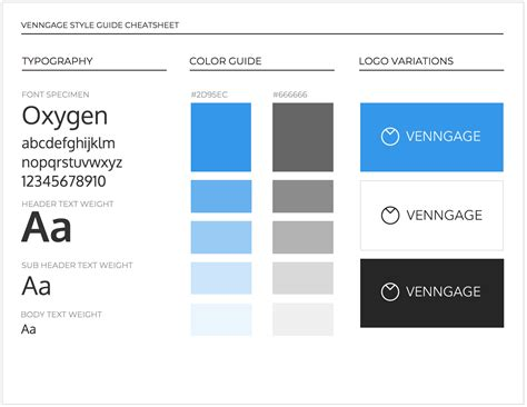 brand guide template 65 brand guidelines templates exles tips for consistent branding venngage
